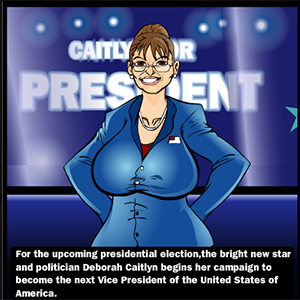 Sarah Palin Whore For VP